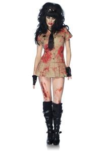 policia zombie sexy