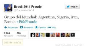 fraude sorteo mundial